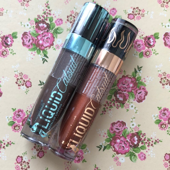 🆕LE Bundle Wet And Wild Liquid Catsuit lipsticks NWT